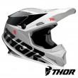 Thor SECTOR FADER Dirt Bike Helmet - Black White