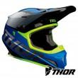 Thor SECTOR FADER Dirt Bike Helmet - Blue Black