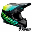Thor SECTOR FADER Dirt Bike Helmet - Acid Teal