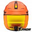 Thor Youth SECTOR RACER Dirt Bike Helmet - Orange Midnight