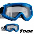 Thor Youth COMBAT Goggles - Blue White