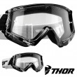 Thor Youth COMBAT WEB Goggles - Black