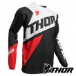 Thor SECTOR BLADE MX Jersey - Charcoal Red