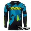 Thor SECTOR WARSHIP MX Jersey - Blue Acid
