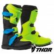 Thor Youth BLITZ XP MX Boots - Flo Acid Black