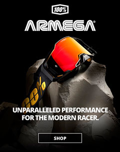 New 100% ARMEGA Goggles